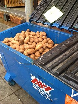 Wasted potatoes