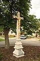 Wayside cross in Cidlina, Třebíč District.jpg