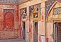 Wazir Khan Mosque (left corner on entrance) (2).JPG