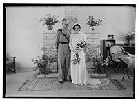 Wedding, Mr. Paton & Sister Sloan, June 23, '43 LOC matpc.14254.jpg