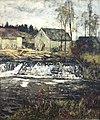 Weimar, Schlossmuseum, Christian Rohlfs, Schneidemühle an der Ilm in Ehringsdorf.JPG