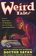 Weird Tales cover image for August 1935