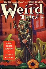 Weird Tales cover image for January 1949