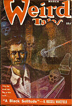 Weird Tales cover image for March 1951