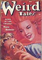 Weird Tales cover image for May 1954