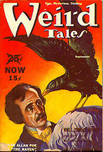Weird Tales cover image for September 1939
