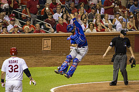 Welington Castillo of the chicago cubs 2014.jpg