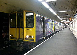 Welwyn Garden City Train, Moorgate 8 May 2013
