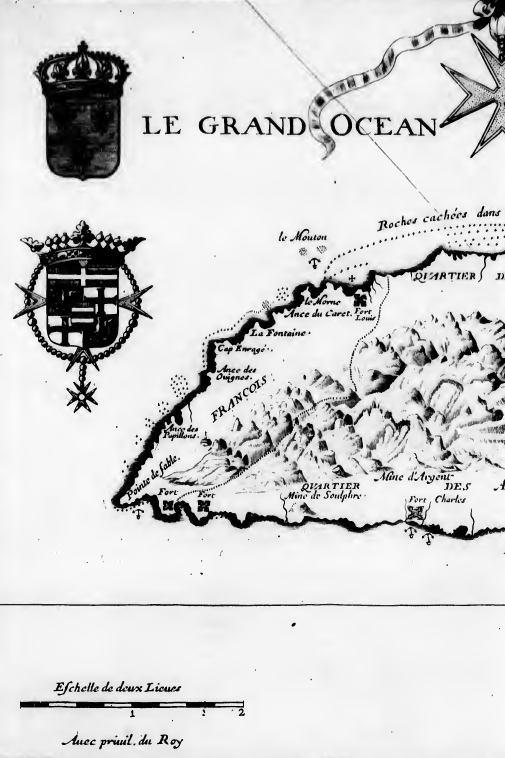 West Saint Kitts map