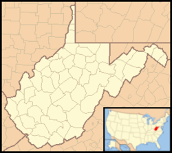 Charleston is located in West Virginia