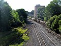 West end of railroad yard, Willimantic, CT.JPG