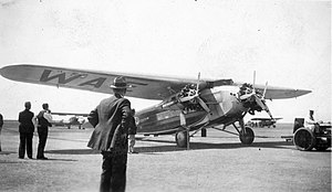 Fokker F.10 - Western Air Express Fokker F.10, Oakland, May 1932