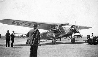 Fokker F.10 - Western Air Express Fokker F.10, Oakland, May 1932