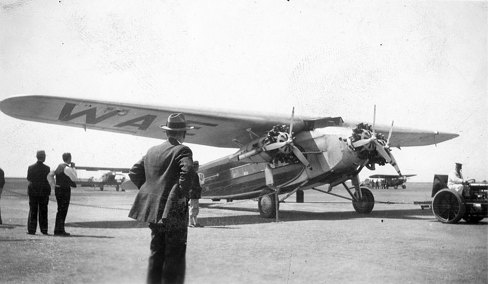Western Air Express Fokker F.10, Oakland, May 1932