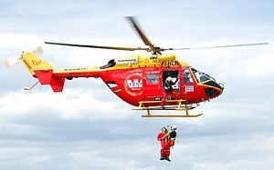 English: Westpac Rescue Helicopter, Taken at t...