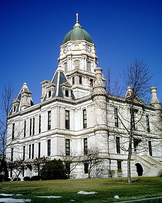 Whitley County, Indiana - Image: Whitley County Courthouse