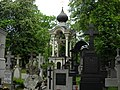 Widok na dzwonnicę cerkwi jana klimaka.JPG