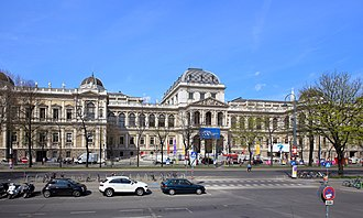 Main building (University of Vienna) - Image: Wien Universität (3)