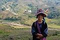 Wietnam, Sapa, Strój ludowy kobiety.jpg