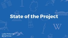 Wikidata: State of the project presentation