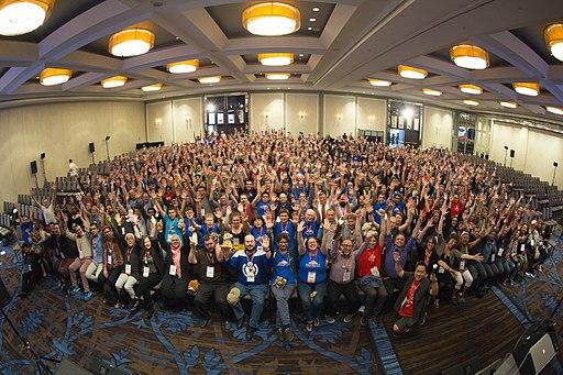 Wikimania 2017 Closing Ceremony Group Photo-3