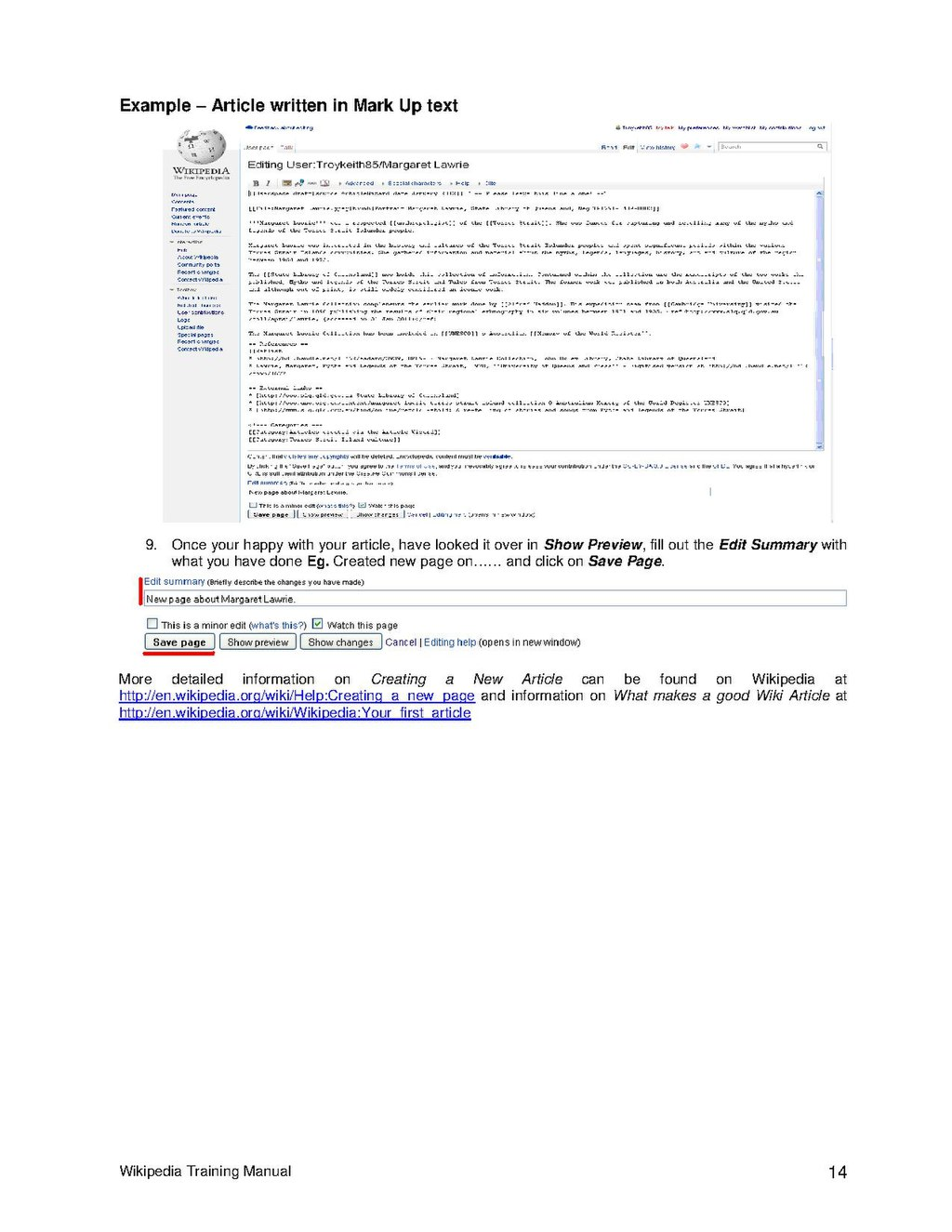 page wikipedia training manual pdf 14 wikisource the free online