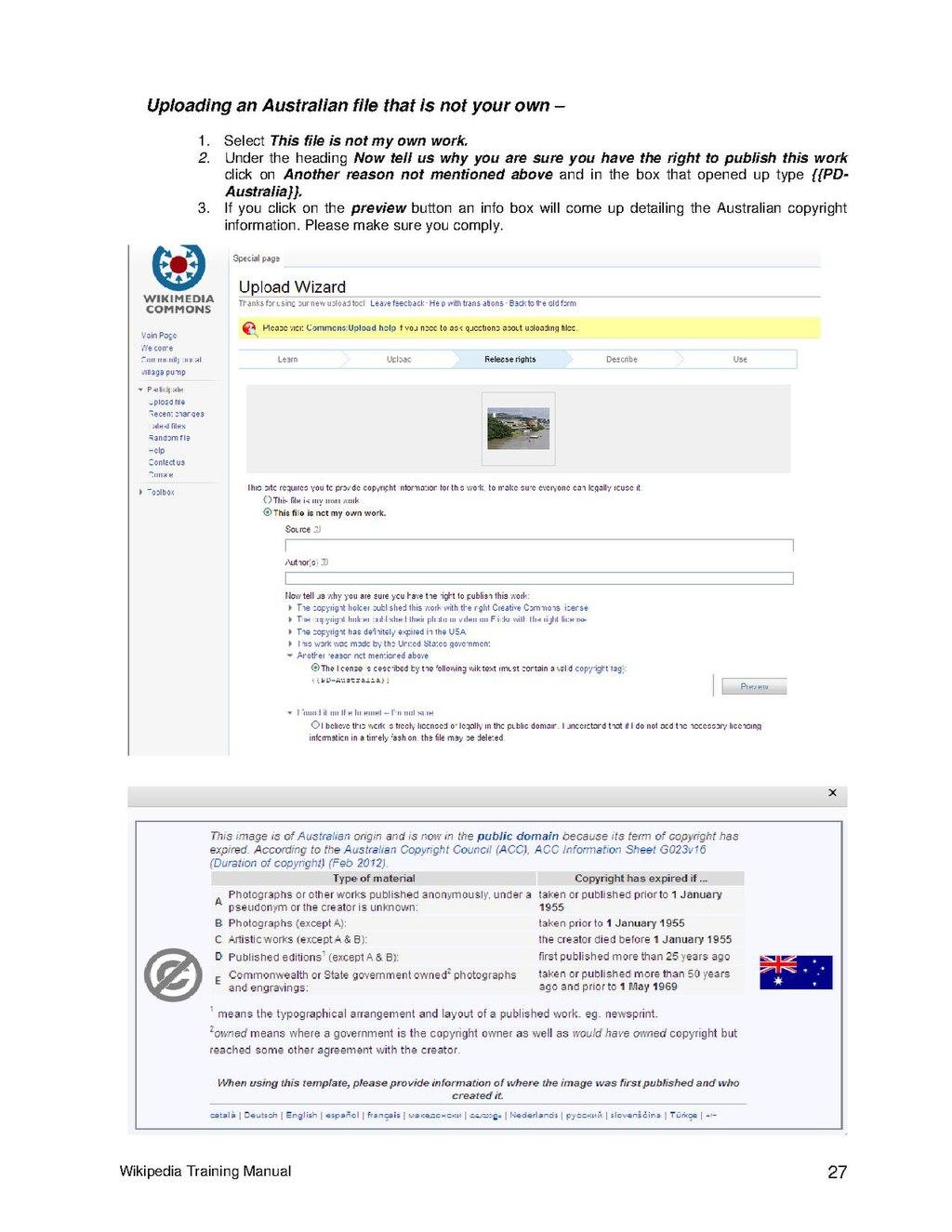 Page:Wikipedia Training Manual pdf/27 - Wikisource, the free