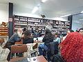 Wikipedistas trabajando en el Editatón 'Wikipedia ama el cine' 19.JPG