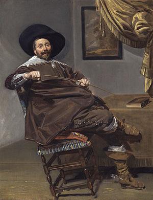 Frans Hals - Willem Heythuijsen by Frans Hals 1634