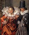 Willem Pietersz. Buytewech - Dignified Couples Courting (detail) - WGA3724.jpg
