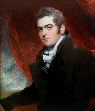 Bowden, Ashprington - William Dacres Adams (1775–1862), portrait by his friend Sir Thomas Lawrence (1769–1830). Berger Collection
