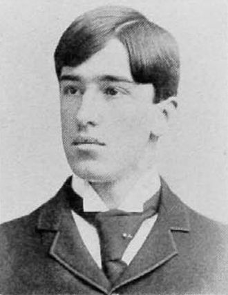 William A. Reynolds - Reynolds pictured in The Cincinnatian 1896, Cincinnati yearbook
