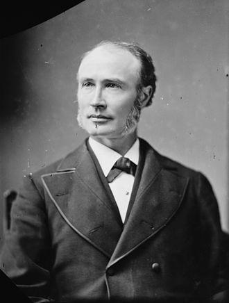 William Claflin - Portrait by Brady-Handy studio, 1870s