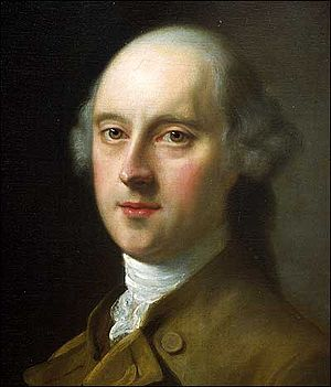 William Legge, 2nd Earl of Dartmouth - The Earl of Dartmouth (1777), by Nathaniel Hone