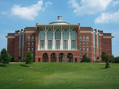 The library at the University of Kentucky, Kentucky's flagship university William T. Young Library.jpg