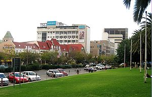 Zoo Park - View from the park towards the Central Business District
