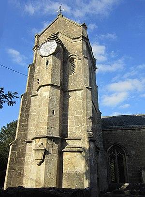 Winsley - Belltower of St. Nicholas' parish church