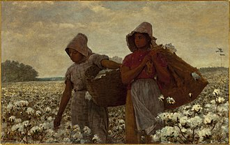 The Cotton Pickers - The Cotton Pickers, 1864 by Winslow Homer