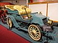 Winton automobile, 1903, made by Wintor Motor Carriage Co., Cleveland, Ohio, 20 HP, 2 cylinder, gasoline engine - Luray Caverns Car and Carriage Museum - Luray, Virginia - DSC01217.jpg