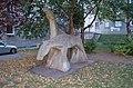 Wohnhausanlage Heiligenstädter Straße 141-145 Kunst am Bau Pferde I.jpg