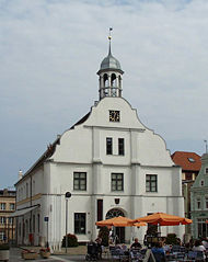 Old town hall of Wolgast