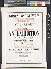 Women's War Services - An Exhibition Art.IWMPST13754.jpg
