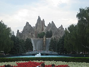 Canada's Wonderland - Wonder Mountain and the Victoria Falls