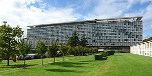 World Health Organization building from the So...