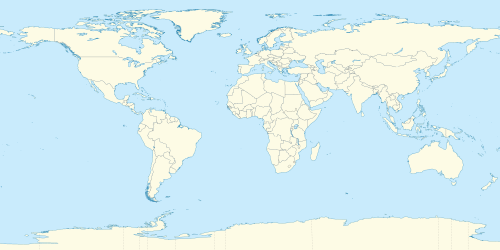 World location map (equirectangular 180).svg
