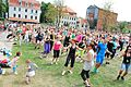 World record in zumba in Bydgoszcz June 2013 04.jpg