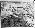 Wouwse poort, reproductie door Jowva de Grave 21712 - Bergen op Zoom - 20031623 - RCE.jpg