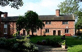 Wright's Almshouses, Nantwich - Wright's Almshouses, Beam Street, Nantwich