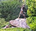 Wrocław, pomnik Polującej Diany w Parku Szczytnickim na Skwerze Zbyszka Cybulskiego.jpg