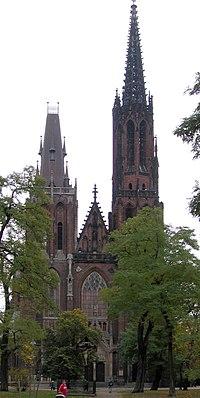 Wroclaw kosciol swMichalaArchaniola od strony parku.jpg